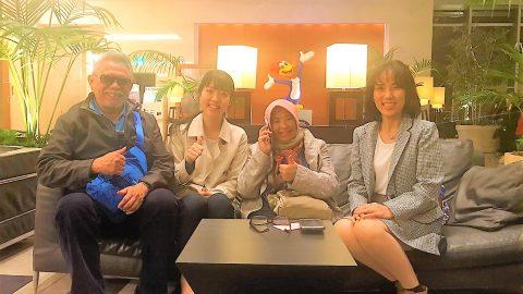 インドネシアから大阪まで会いに来て下さいました♬